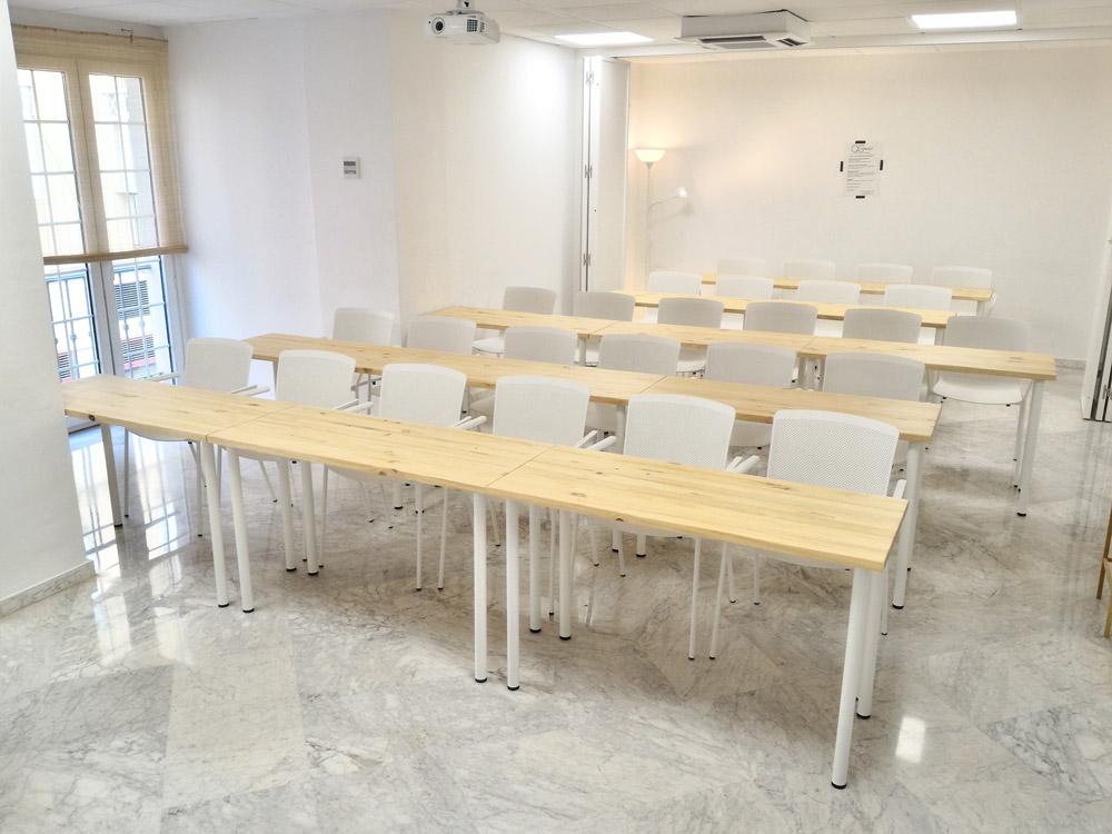 alquiler de aula en Málaga